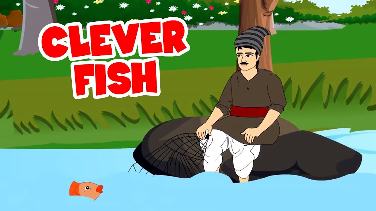 Clever Fish – English Stories For Kids | Moral Stories In English | Short Story In English