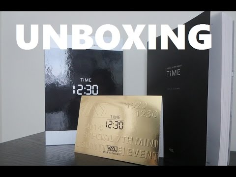 Unboxing - Time - BEAST Special 7th Mini Album