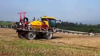 Spraying the Stubble with AgriBuggy