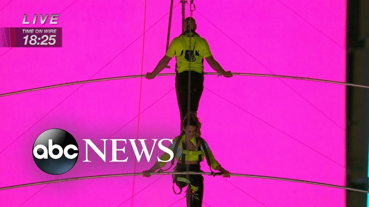 Lijana Wallenda says Times Square high-wire stunt felt like 'home'