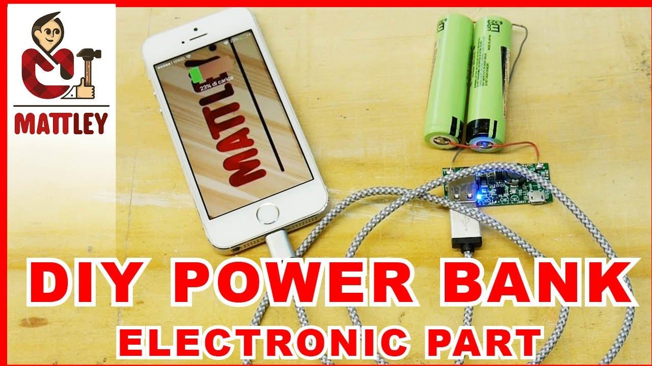 Come costruire un power bank fai da te l elettronica for Costruire affumicatore fai da te