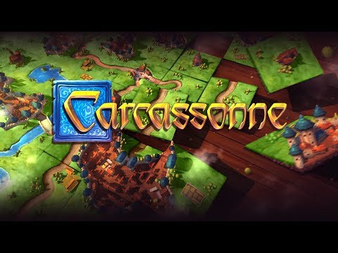 DGA Plays: Carcassonne - Steam Edition (Ep. 1 - Gameplay / Let's Play)
