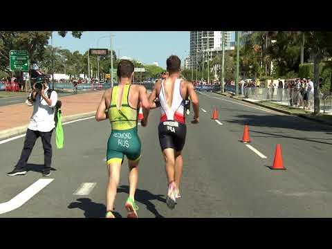 2018 ITU World Triathlon Gold Coast - Junior Men's Highlights