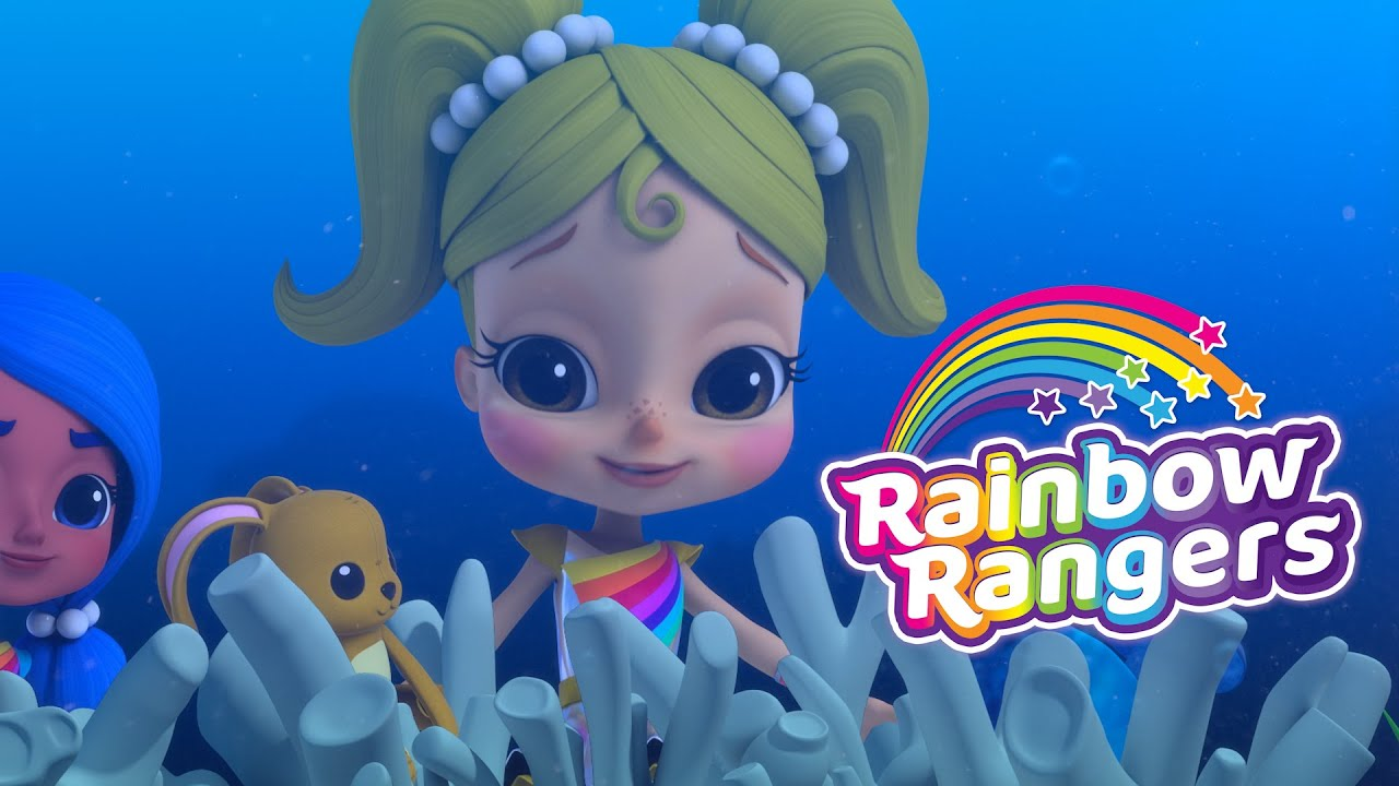 Mr Stuffy Wuffy Saves the Coral! | Rainbow Rangers Episode Clip