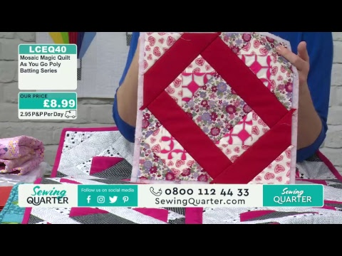 Sewing Quarter - 25th January 2018