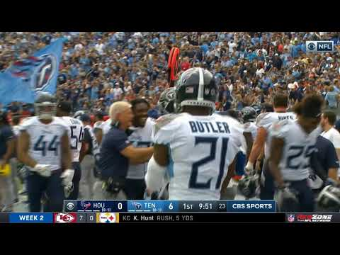 Titans Pull Off Crazy Fake Punt Touchdown | NFL Highlights