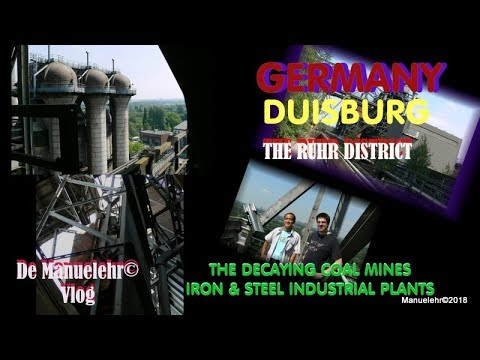 Duisburg Coal Mine Then and Now