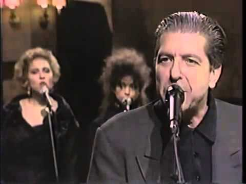 1989... Saturday Night Live, Tower Of Song...