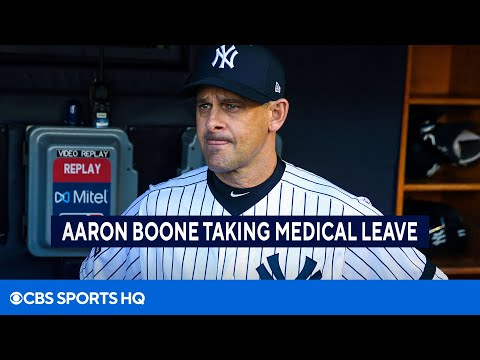 Yankees manager Aaron Boone takes medical leave, will receive a pacemaker  CBS Sports HQ
