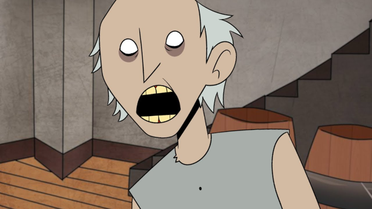 Da halloween maschera cartone animato zombie d effetto orrendo