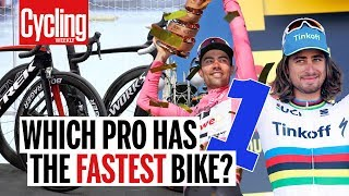 Which Pro Has The Fastest Aero Bike? Part 1 | Cycling Weekly
