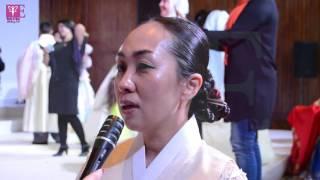 بالفيديو.. المصممة الكورية: أتمنى أن أشارك هاني البحيري في عرض أزياء 'مصري كوري'
