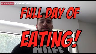 Full Day of Eating | Alle Mahlzeiten | Alle Supplements