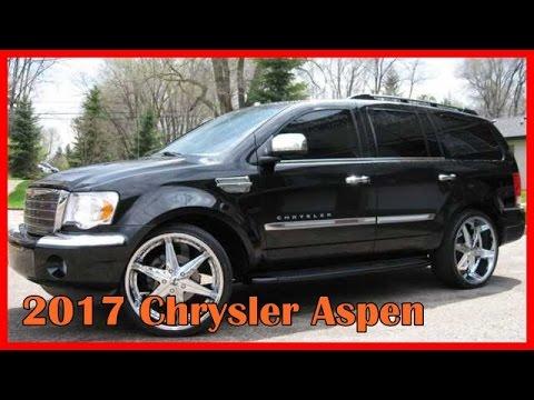 2017 Chrysler Aspen Picture Gallery Youtube