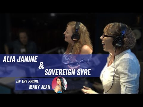 Alia Janine & Sovereign Syre w Mary Jean on Phone  Jim Norton and Sam Roberts
