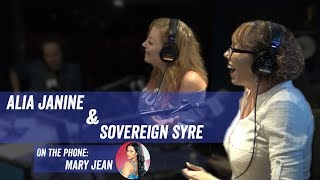 Alia Janine & Sovereign Syre w/ Mary Jean on Phone - Jim Norton and Sam Roberts Show
