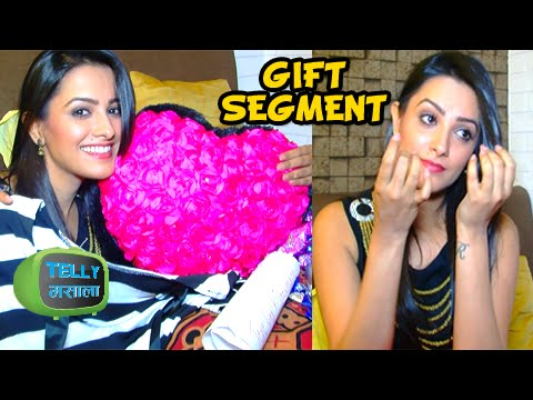 Anita Hassanandani aka Shagun Cries While Receiving Gifts  Gift Segment