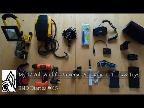 #14: My 12 Volt Vanlife Universe: Sprinter Camper Van Conversion: RND Vanlife Diaries #15