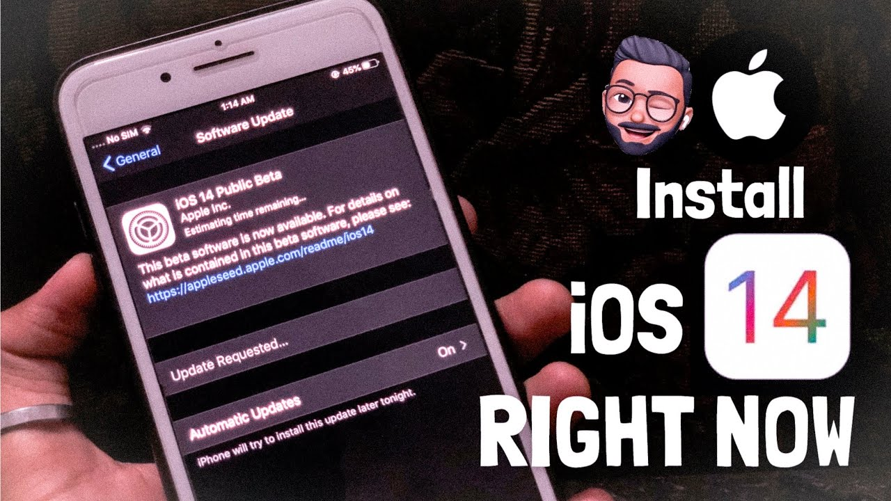 Install iOS 14 Beta 1 ON iPhone RIGHT NOW !!! NO DEVELOPER ACCOUNT