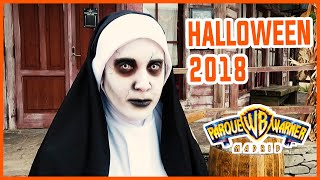 HALLOWEEN 2018 | PARQUE WARNER BROS MADRID | Vero Vlogs