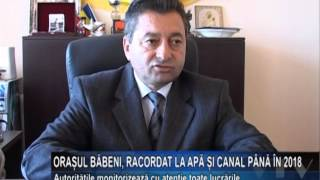 Baixar Orasul Babeni, racordat la apa si canal pana in 2018