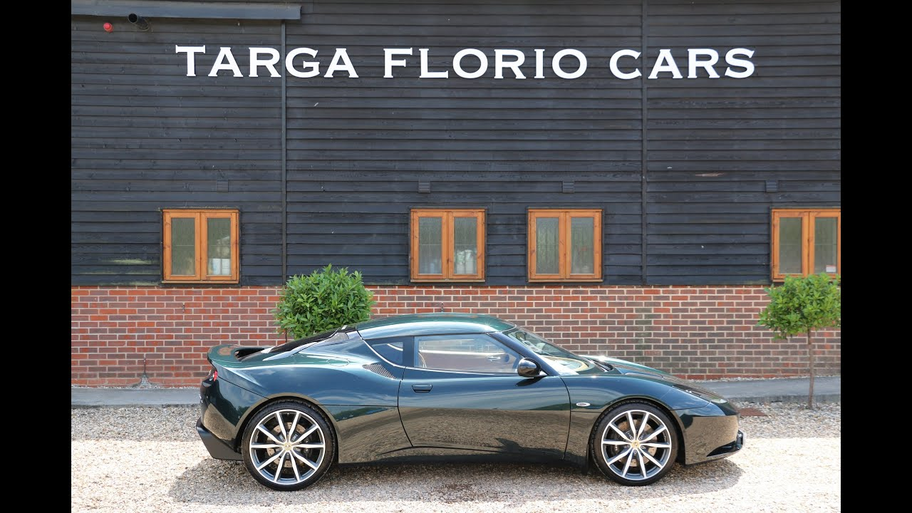 lotus evora s 4 v6 3 5 supercharged for sale at targa florio cars in sussex youtube. Black Bedroom Furniture Sets. Home Design Ideas