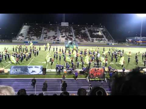 Weslaco High School Marching Band at Pigskin Competition 2014