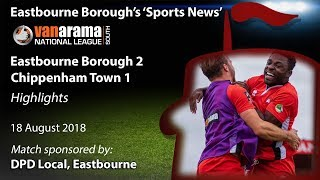 'Sports News': Eastbourne Borough 2 v 1 Chippenham – Vanarama National League South Highlights
