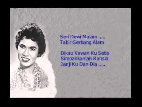 Seri Dewi Malam ... Normadiah (Lirik).