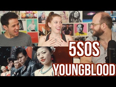 5 Seconds Of Summer - YOUNGBLOOD - 5SOS - REACTION