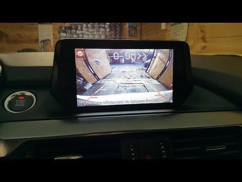 Mazda 6 - камера переднего вида, заднего вида и видеопарктроник все выведено на штатный монитор