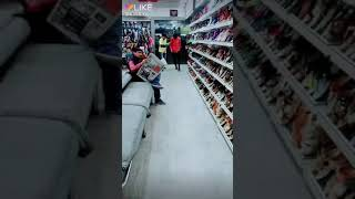 Funny shoes prank