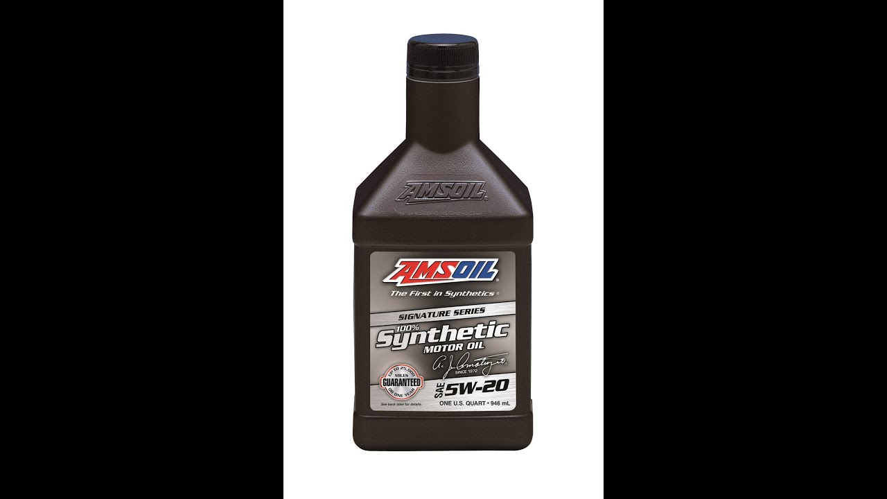 Amsoil 0w 20 5w 20 5w 30 10w 30 signature series for What is synthetic motor oil made out of