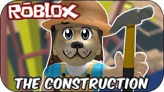 ROBLOX - The worst construction ever! - Escape The Construction