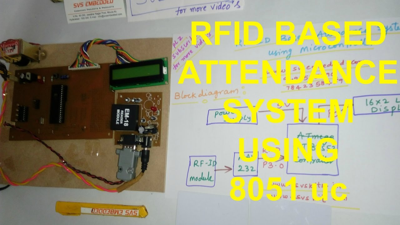 Rfid Based Attendance System Using Microcontroller Embedded Systems Blog Pic Electronic Lock
