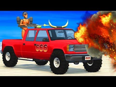 EPIC Car Hunt (Hunting Cars Crashes) BeamNG.Drive - CrashTherapy - 동영상