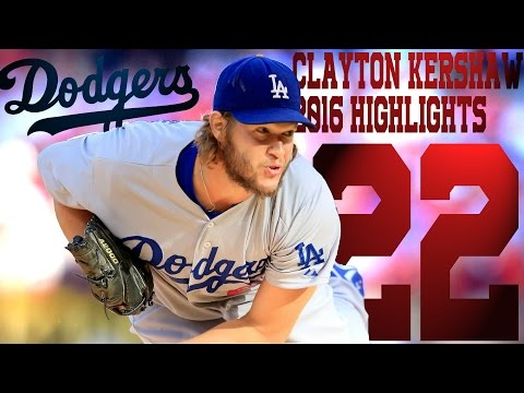 Clayton Kershaw | Los Angeles Dodgers | 2016 Highlights Mix ᴴᴰ