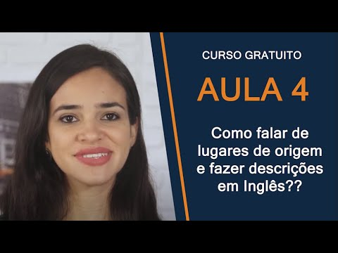 Aulas de Inglês from YouTube · Duration:  5 minutes 7 seconds