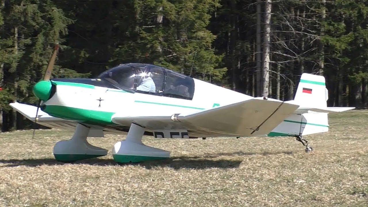 Download Jodel DR 100/1050 landing at Airfield Rostock   D-ECEA