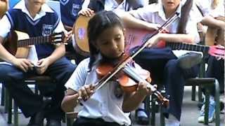 "Josmeli Carrero - Viola ""Allegro"" Dia del Padre en U.E. Dr. Gustavo H. Machado"