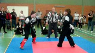 Zen Do Kai Kickboxing Tournament Round Four