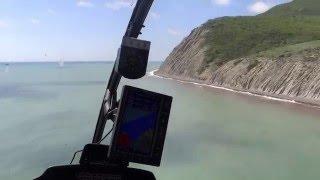 Черноморская Тур Лига, полет на вертолете над Абрау-Дюрсо.(Черноморская Тур Лига, полет на вертолете над Абрау-Дюрсо. 28 апреля первый раз в жизни полетел на вертолете..., 2016-05-04T13:16:30.000Z)