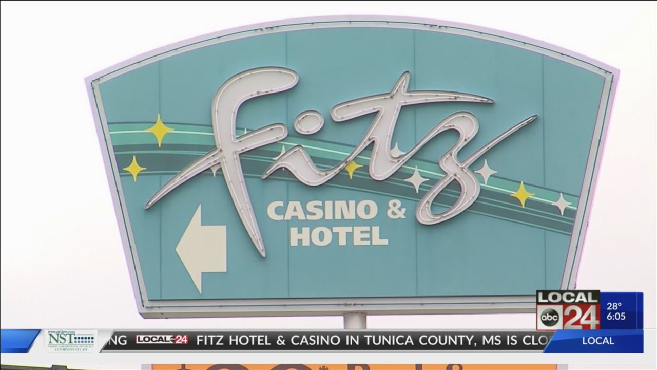 Fitz Casino In Tunica County Mississippi Closed Due To Mississippi River  Flooding