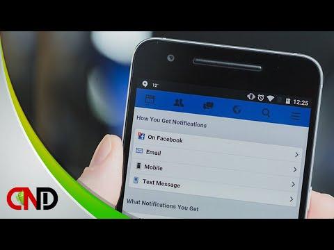 Cara mudah nonaktfikan notifikasi Facebook di Android - YouTube
