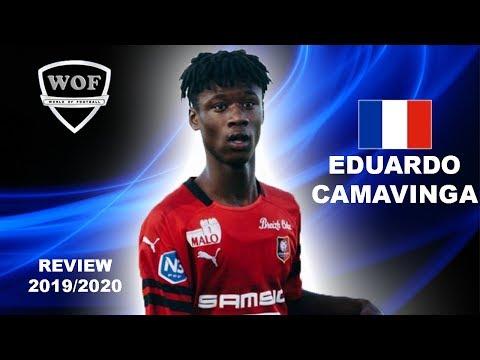 EDUARDO CAMAVINGA   Crazy Skills & Assists   Stade Rennais 2019 (HD)