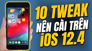 10 TWEAKS hay nên cài sau khi Jailbreak iOS 12.4 | Phần 1