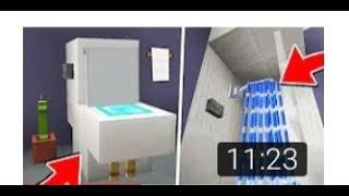 Это самая настоящая ванная комната в Майнкрафт без модов тайные постройки №2 