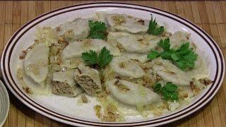 Pierogi z mięsem - przepis na farsz i ciasto
