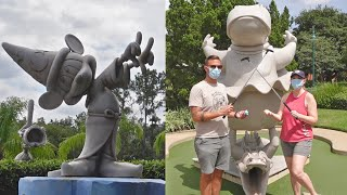 Our Full Experience At Walt Disney World's Fantasia Mini Golf! | That's A Mulligan, Tips & Tricks!