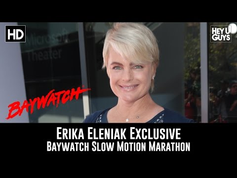 Erika Eleniak Exclusive  Baywatch Slow Mo Marathon